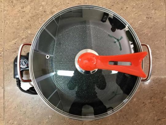 Chảo lẩu điện đa năng ( cam )